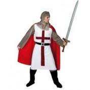 Disfraz caballero cruzado medieval