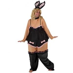 Disfraz de Conejita gorda. disfracessimon.com