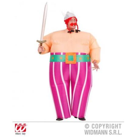 Disfraz de Obelix Inchable