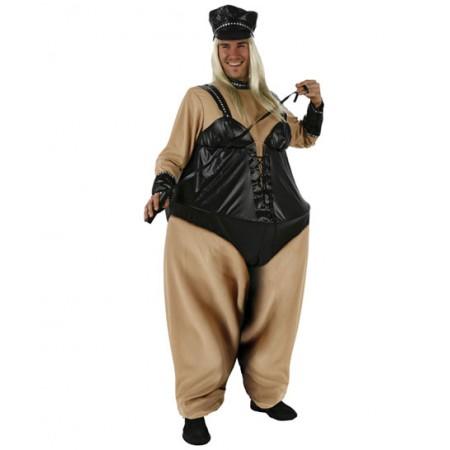 Disfraz de Sadomasoquista gorda