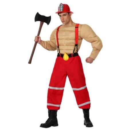 Disfraz de bombero musculoso disfracessimon.com