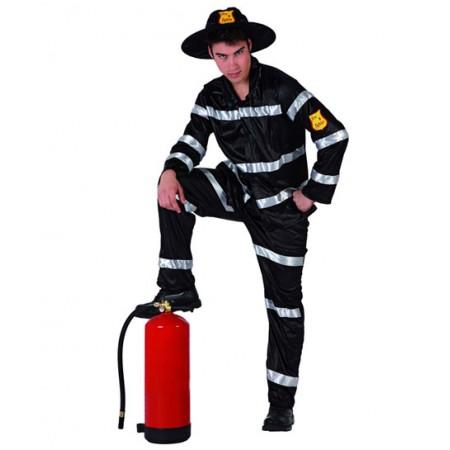Disfraz de bombero oscuro