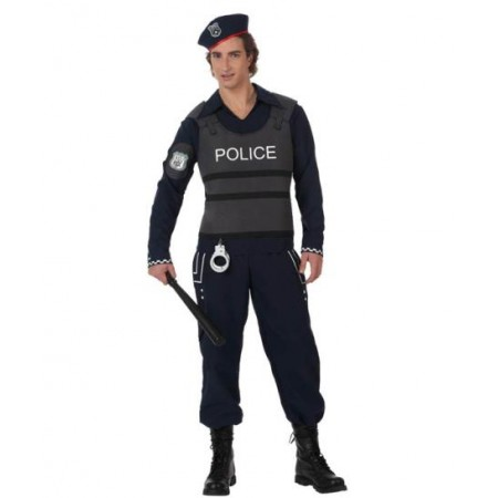 Disfraz de poli en disfracessimon.com