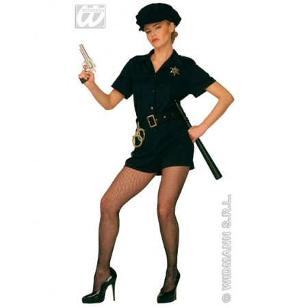 Disfraz de policia mujer www.disfracessimon.com