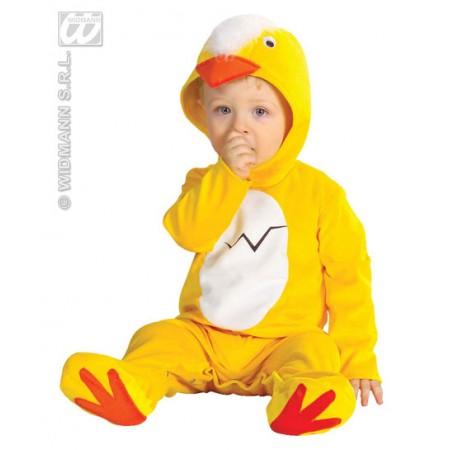Disfraz de pollo para bebe.