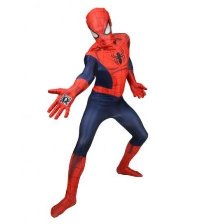 Disfraz de spiderman ajustado