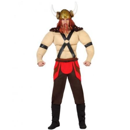 Disfraz de vikingo musculoso. www.disfracessimon.com