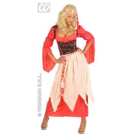 disfraz Vestido de Camarera Medieval