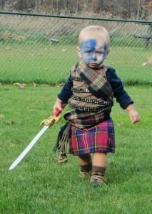 Disfraz Escocés Bebé