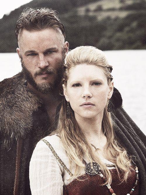 Disfraces de vikingos en pareja