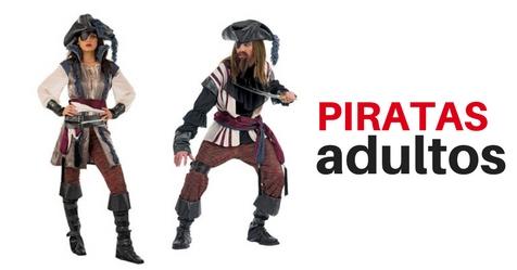Disfraces de pirata para hombre y mujer