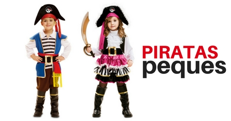 Trajes piratas infantiles